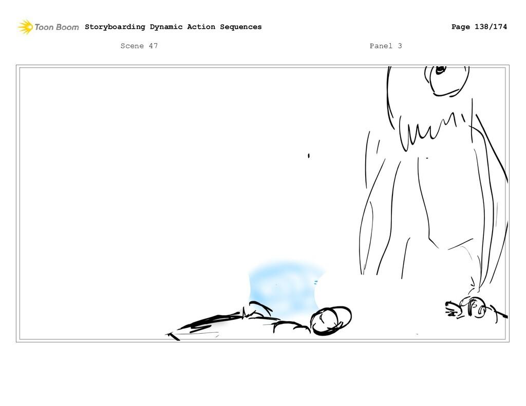 Scene 47 Panel 3 Storyboarding Dynamic Action S...