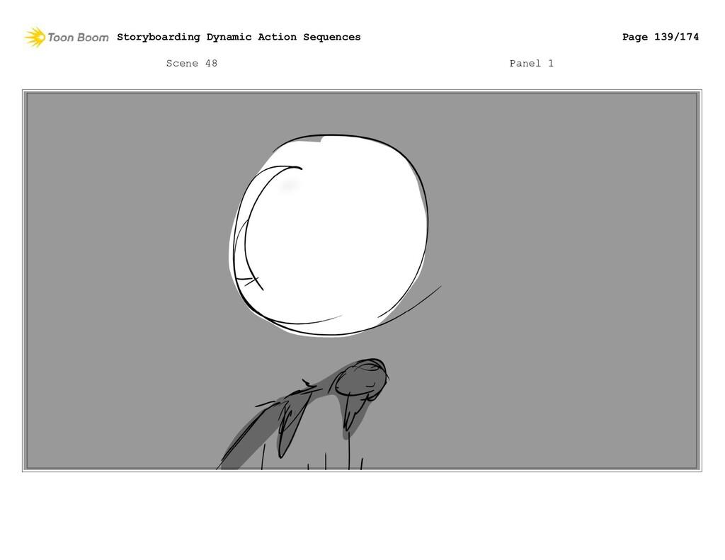 Scene 48 Panel 1 Storyboarding Dynamic Action S...