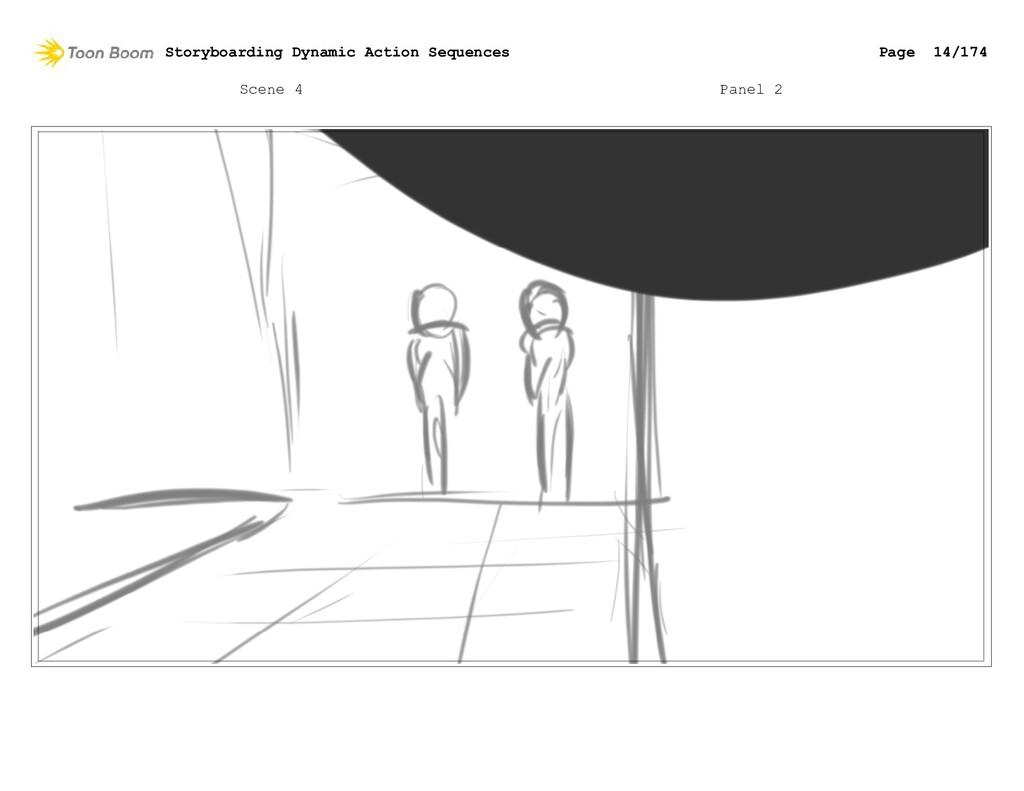 Scene 4 Panel 2 Storyboarding Dynamic Action Se...