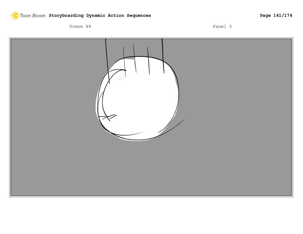 Scene 48 Panel 3 Storyboarding Dynamic Action S...