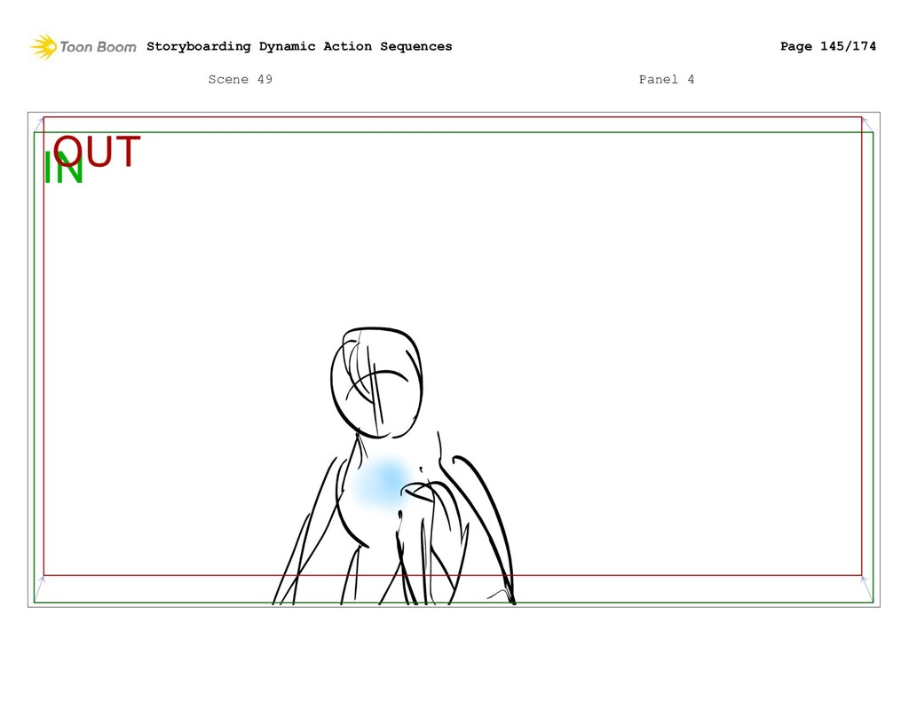 Scene 49 Panel 4 Storyboarding Dynamic Action S...
