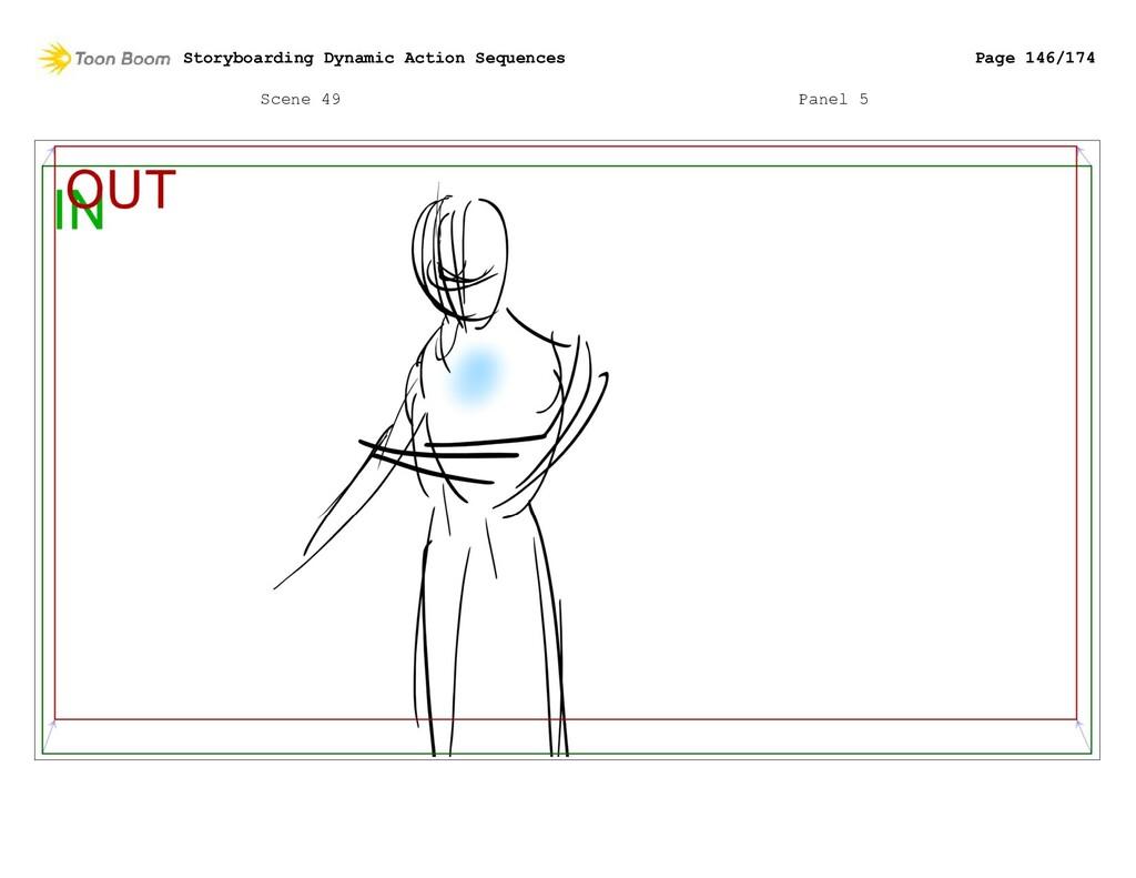 Scene 49 Panel 5 Storyboarding Dynamic Action S...