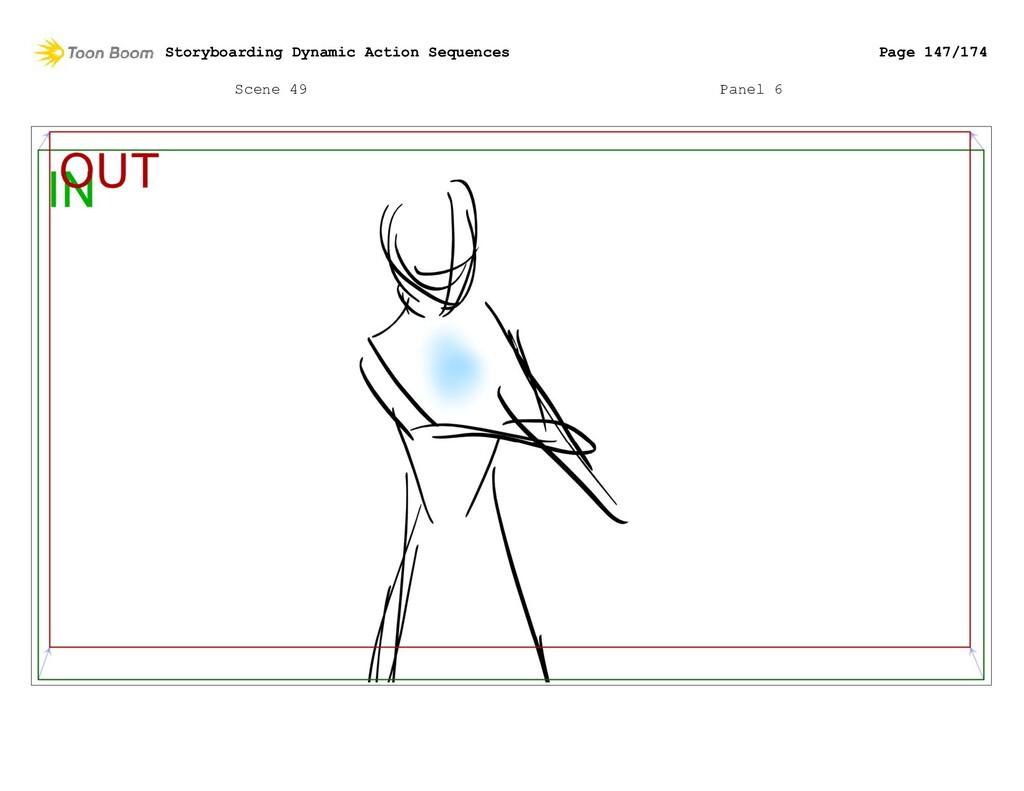 Scene 49 Panel 6 Storyboarding Dynamic Action S...