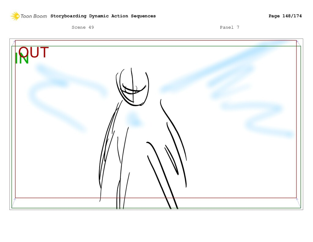 Scene 49 Panel 7 Storyboarding Dynamic Action S...
