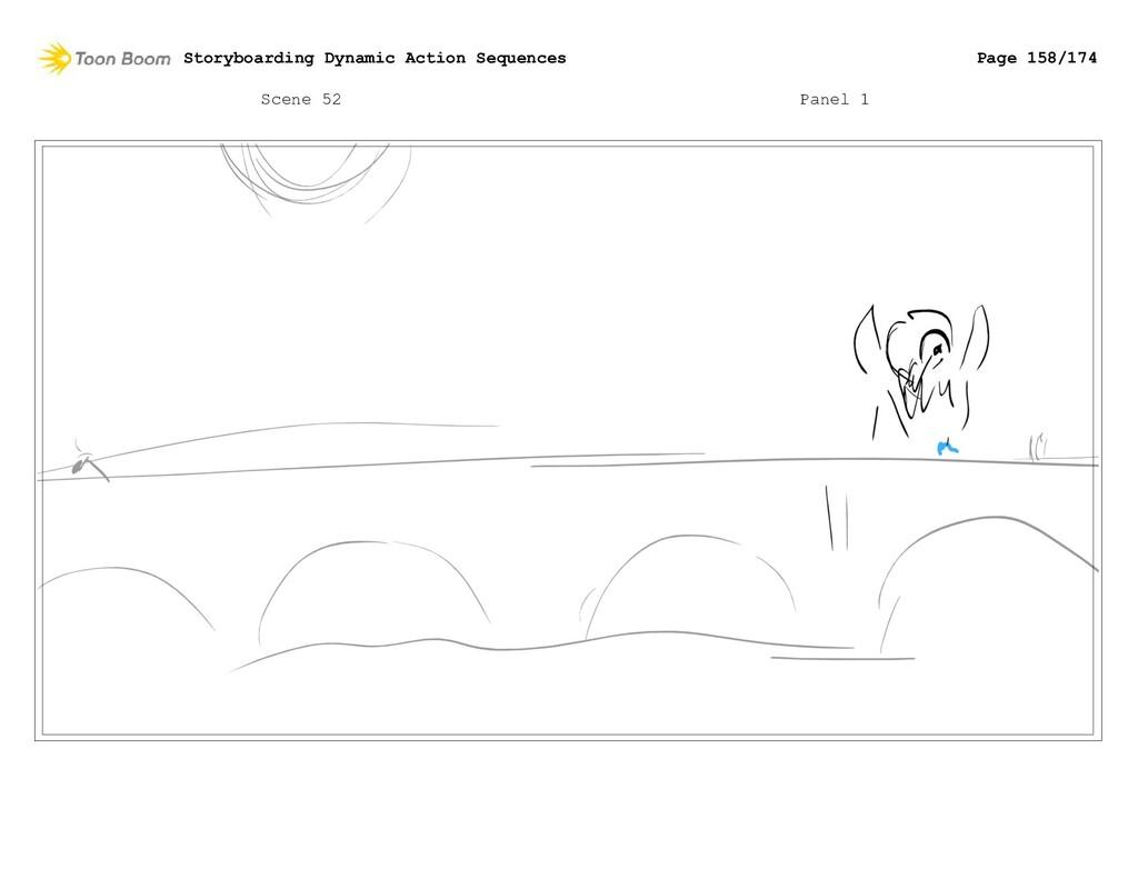 Scene 52 Panel 1 Storyboarding Dynamic Action S...