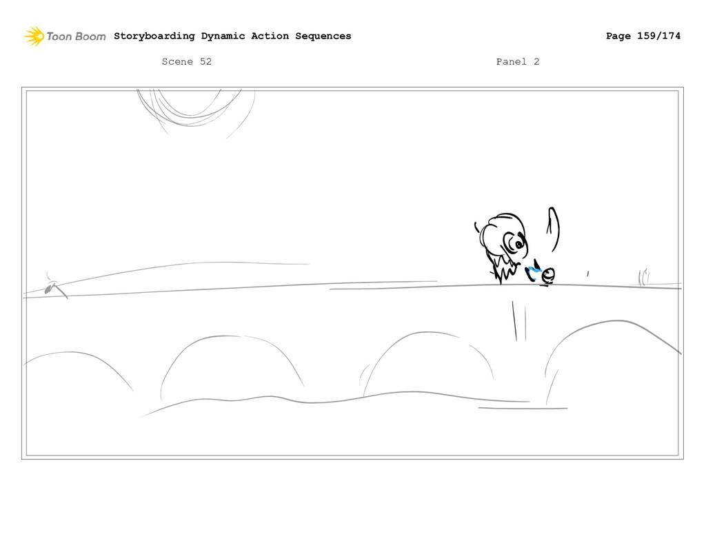 Scene 52 Panel 2 Storyboarding Dynamic Action S...