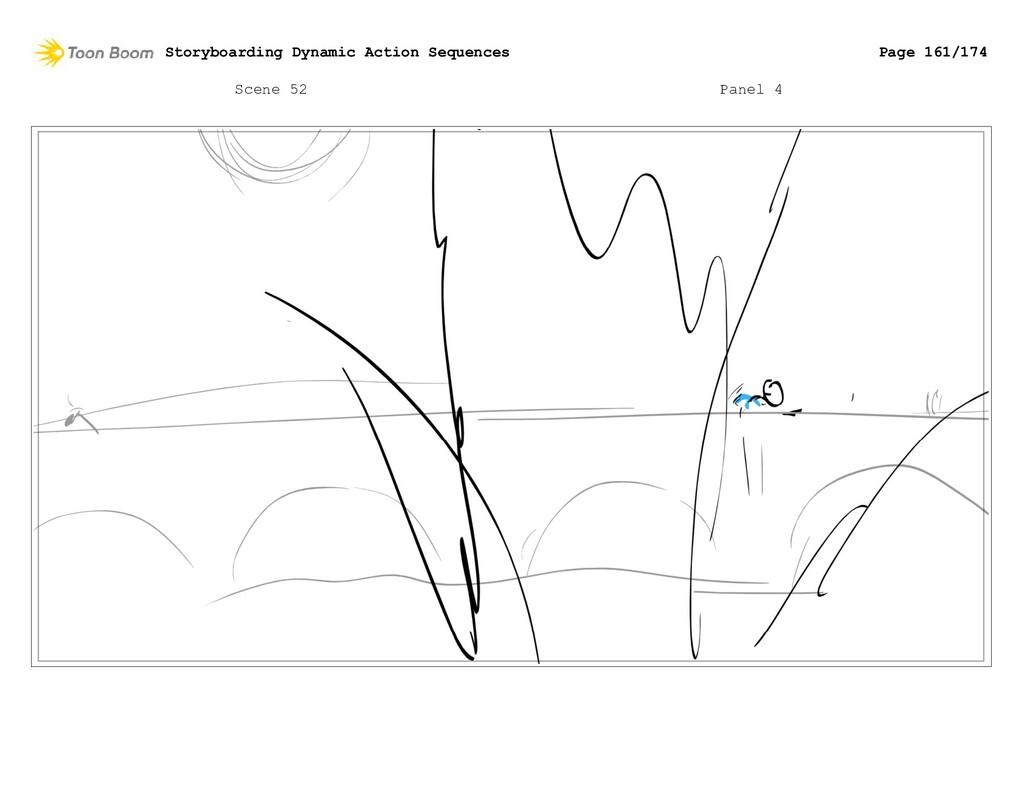 Scene 52 Panel 4 Storyboarding Dynamic Action S...