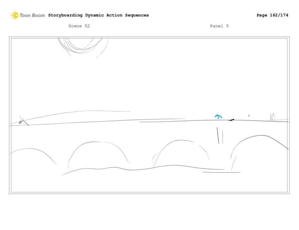 Scene 52 Panel 5 Storyboarding Dynamic Action S...