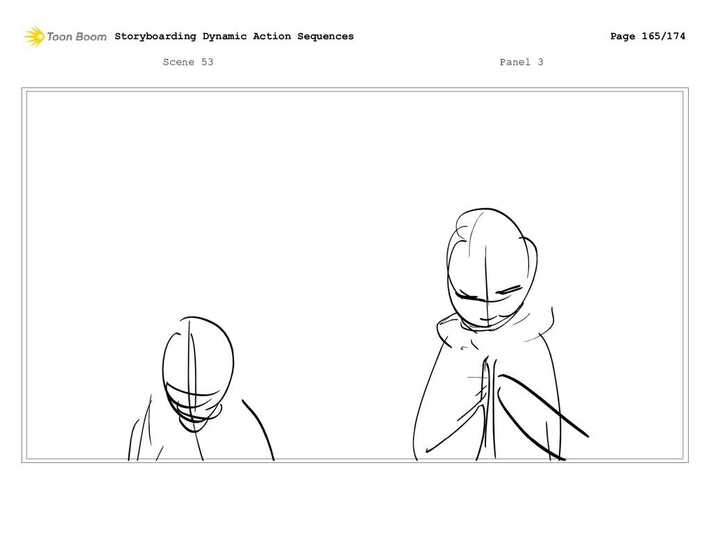 Scene 53 Panel 3 Storyboarding Dynamic Action S...