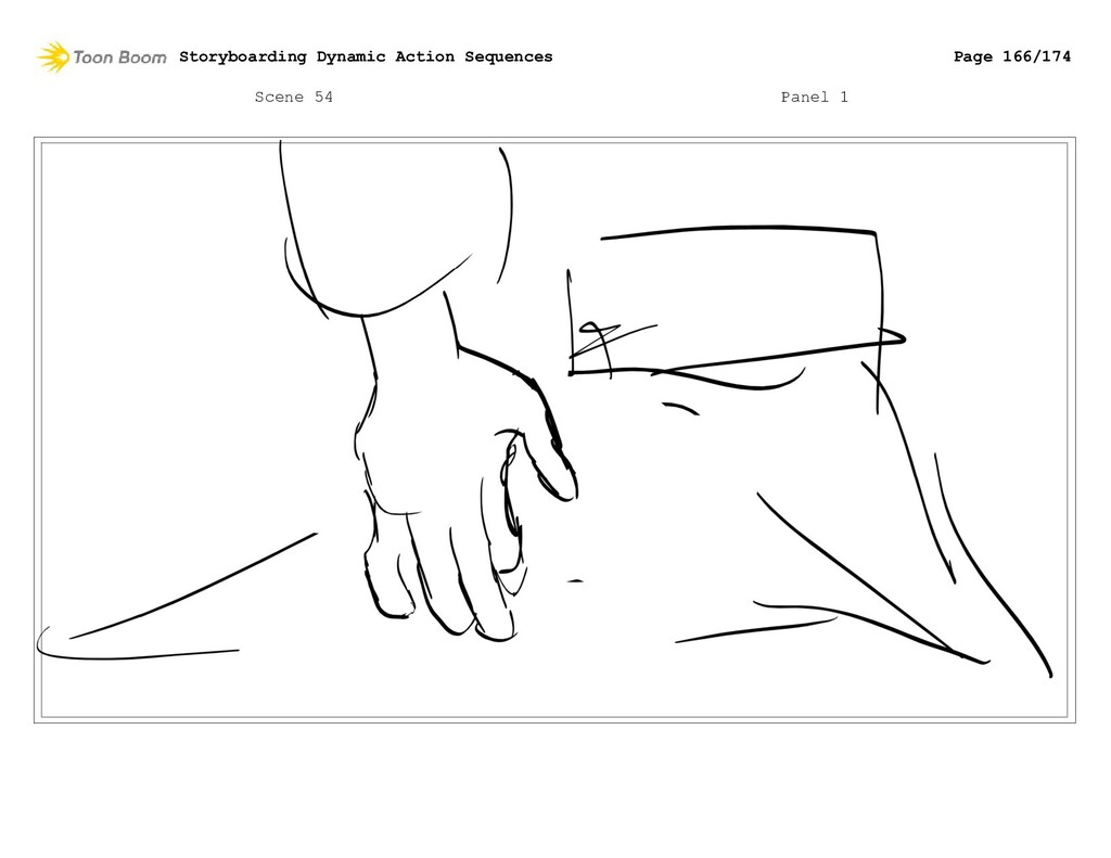 Scene 54 Panel 1 Storyboarding Dynamic Action S...
