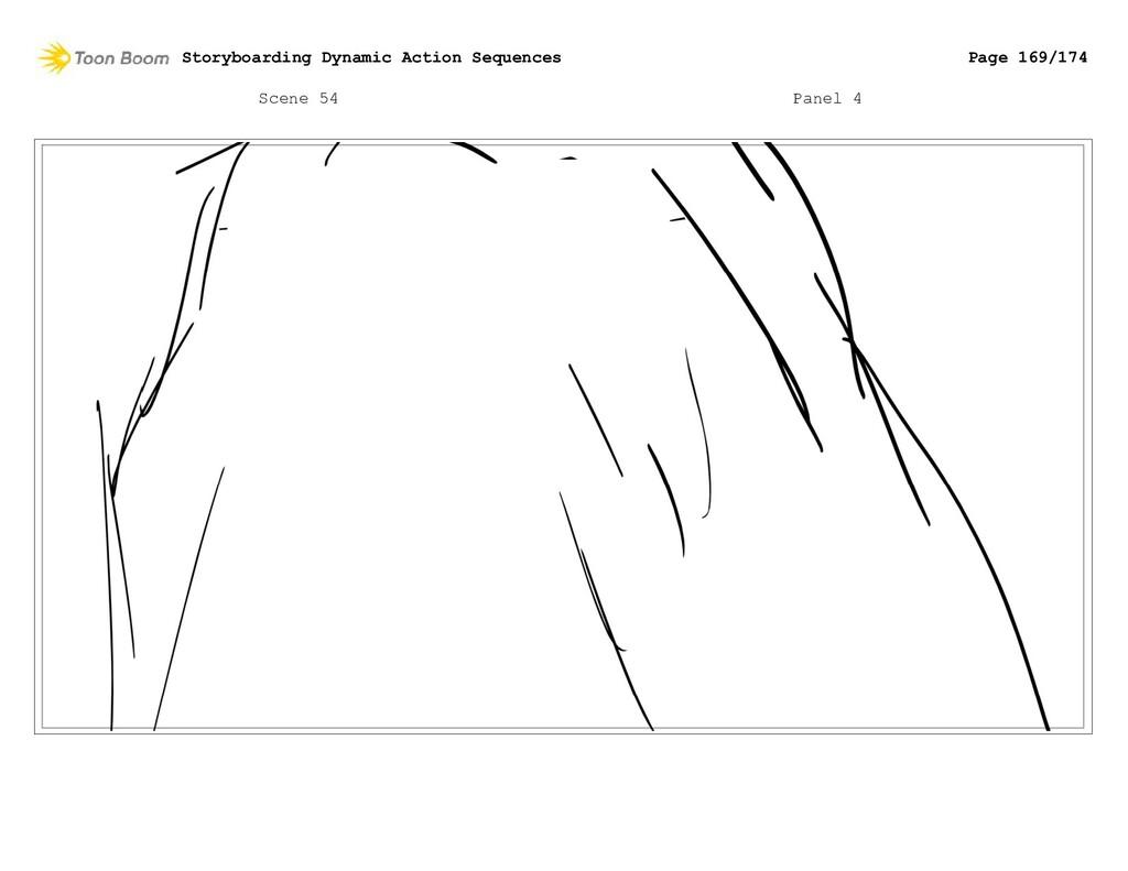 Scene 54 Panel 4 Storyboarding Dynamic Action S...