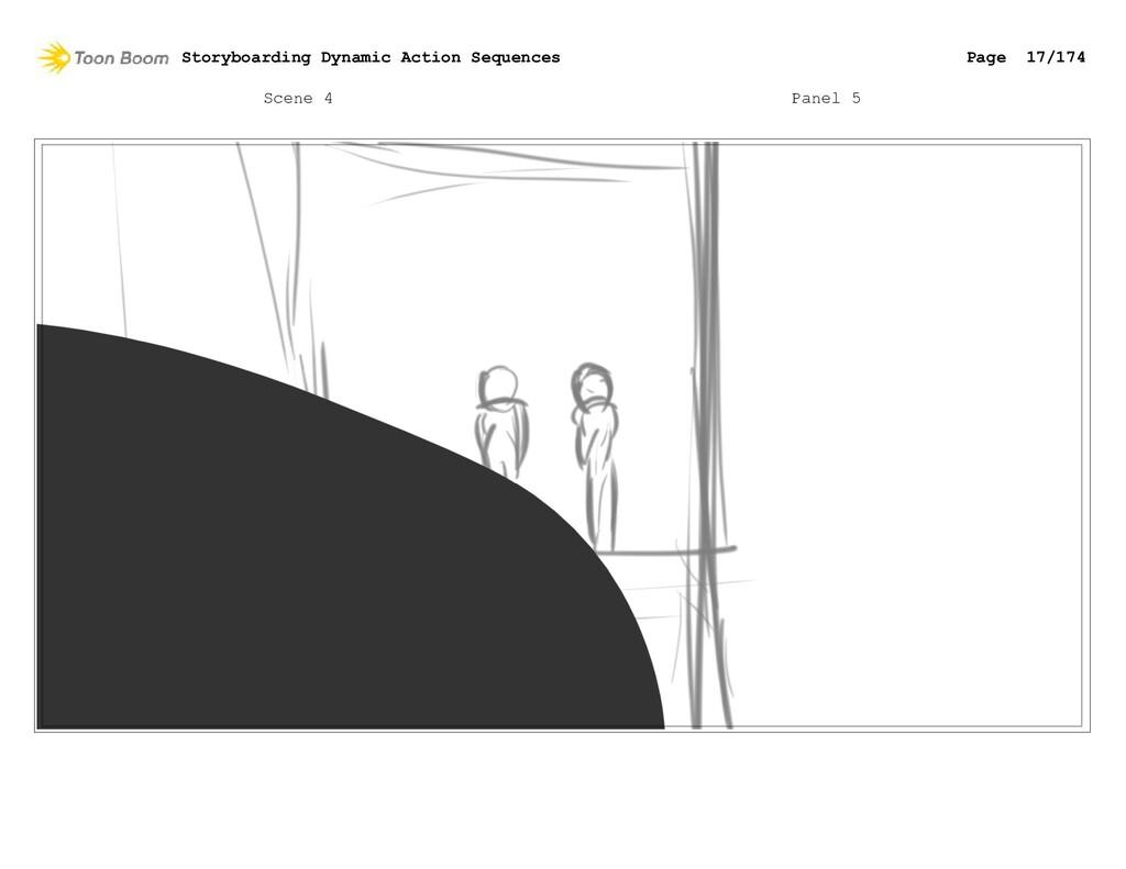 Scene 4 Panel 5 Storyboarding Dynamic Action Se...