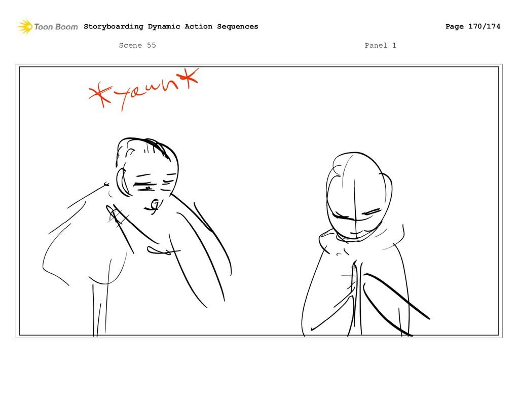 Scene 55 Panel 1 Storyboarding Dynamic Action S...