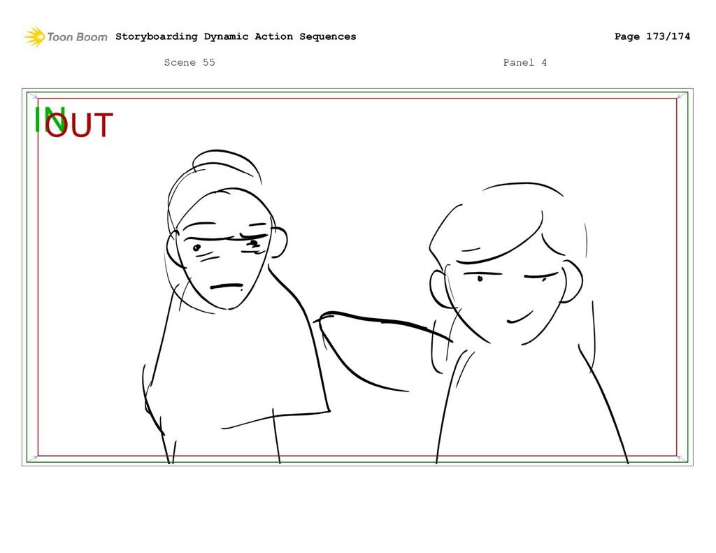 Scene 55 Panel 4 Storyboarding Dynamic Action S...