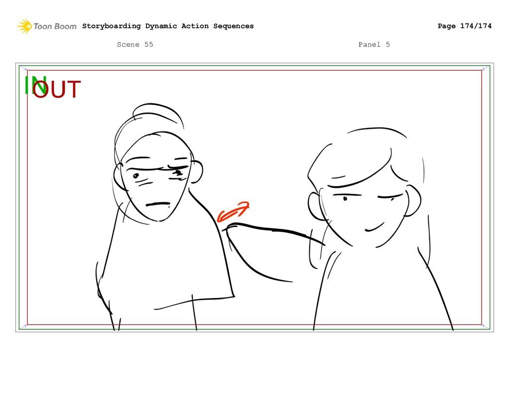 Scene 55 Panel 5 Storyboarding Dynamic Action S...