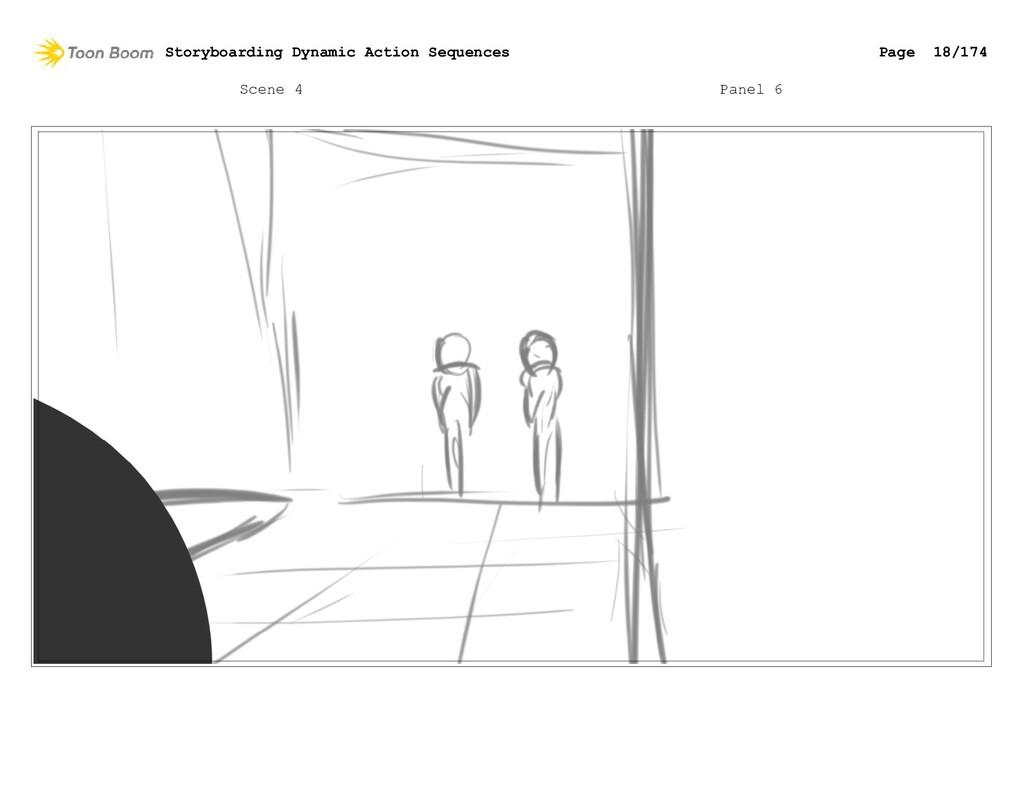 Scene 4 Panel 6 Storyboarding Dynamic Action Se...