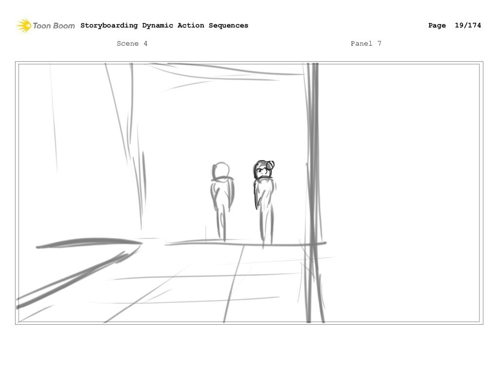 Scene 4 Panel 7 Storyboarding Dynamic Action Se...