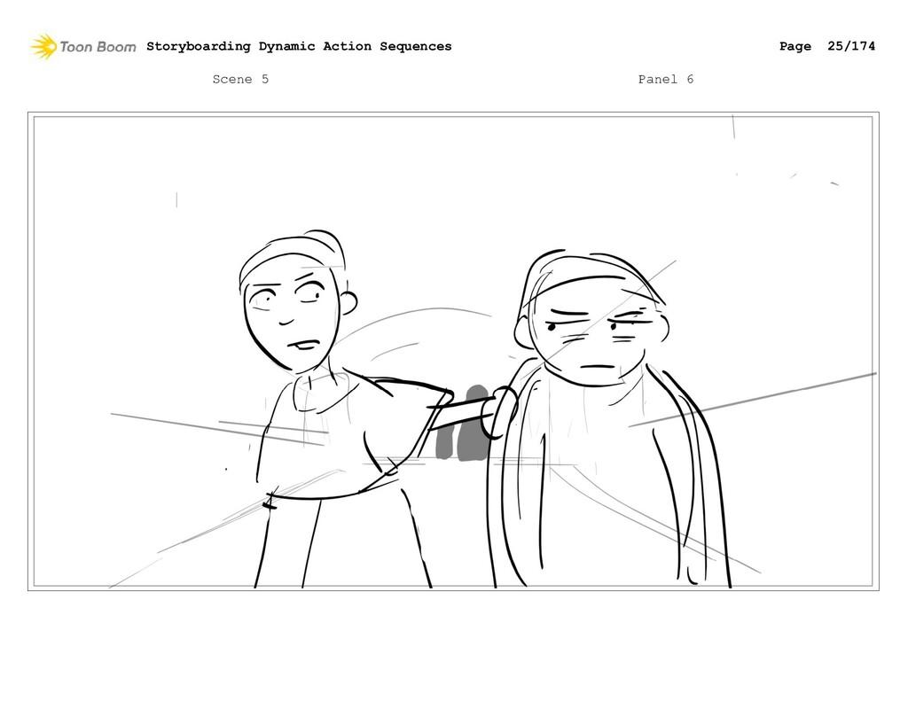 Scene 5 Panel 6 Storyboarding Dynamic Action Se...