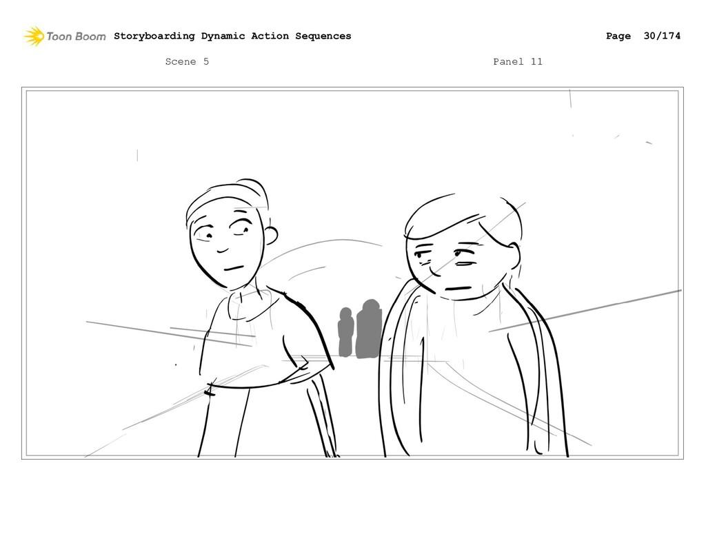 Scene 5 Panel 11 Storyboarding Dynamic Action S...