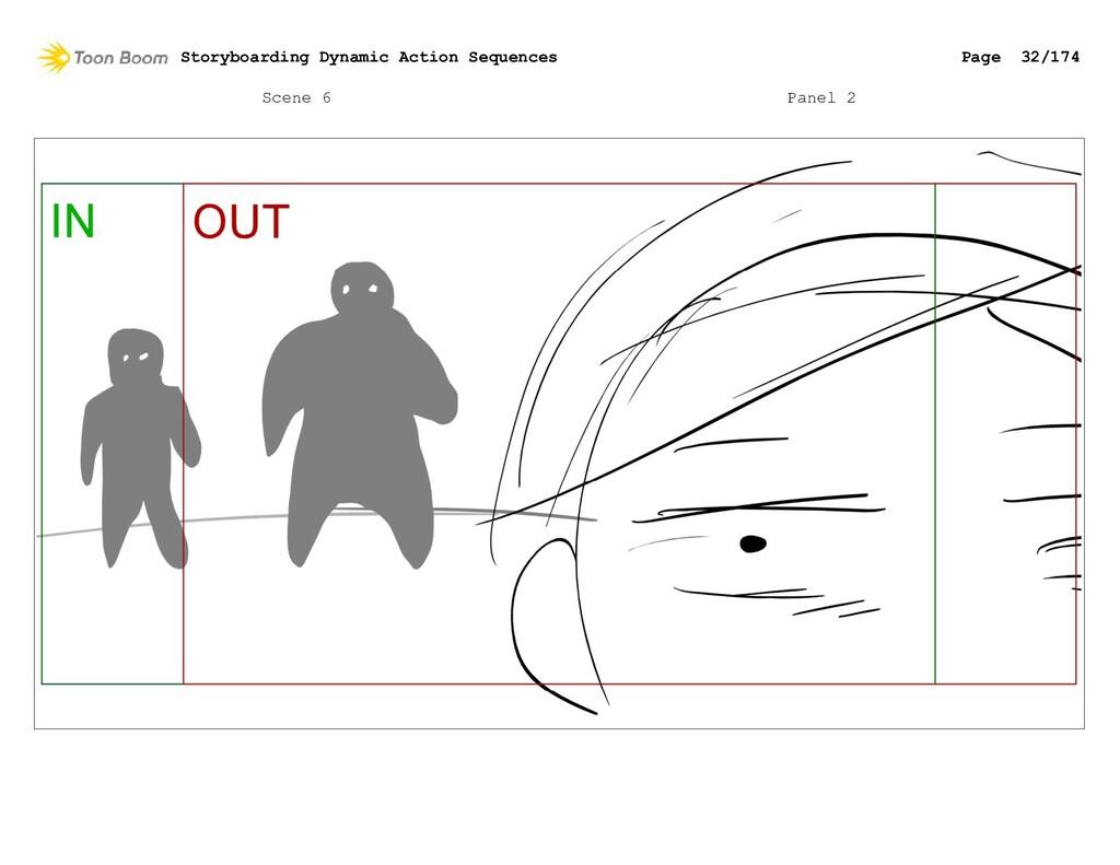 Scene 6 Panel 2 Storyboarding Dynamic Action Se...