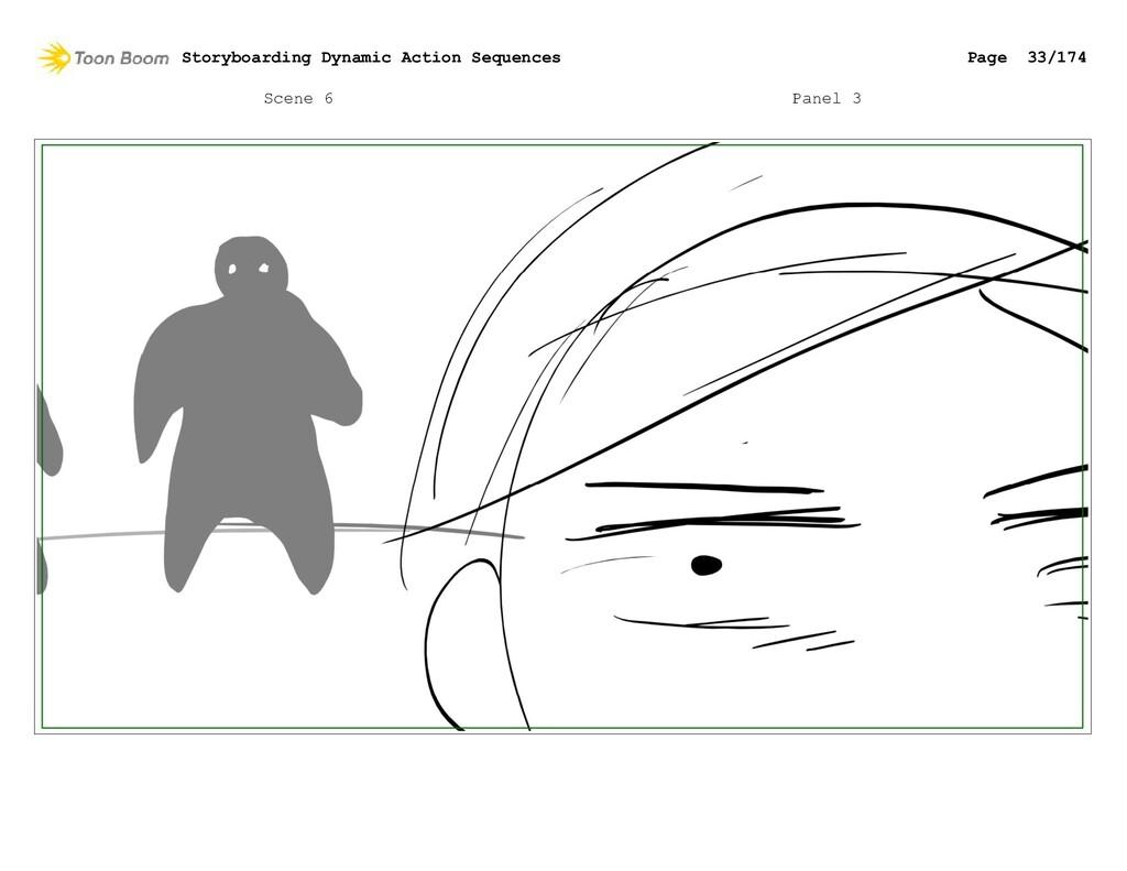 Scene 6 Panel 3 Storyboarding Dynamic Action Se...