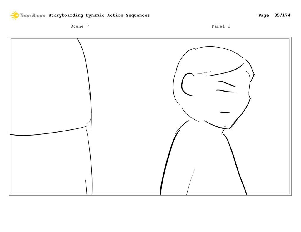 Scene 7 Panel 1 Storyboarding Dynamic Action Se...