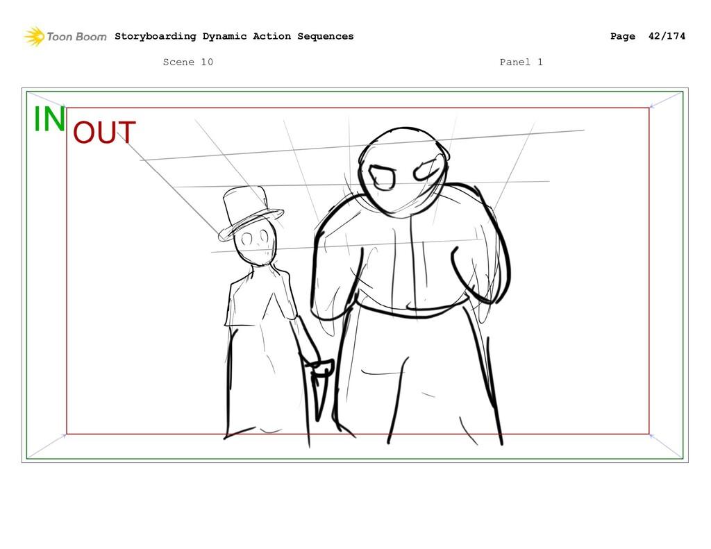 Scene 10 Panel 1 Storyboarding Dynamic Action S...