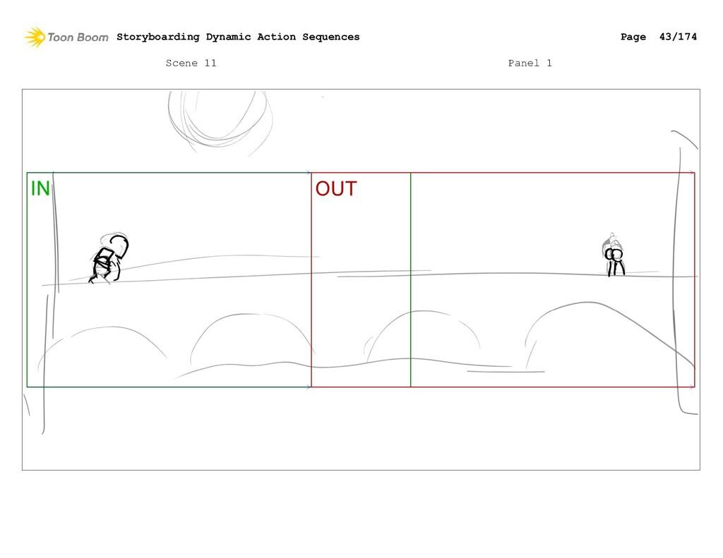 Scene 11 Panel 1 Storyboarding Dynamic Action S...