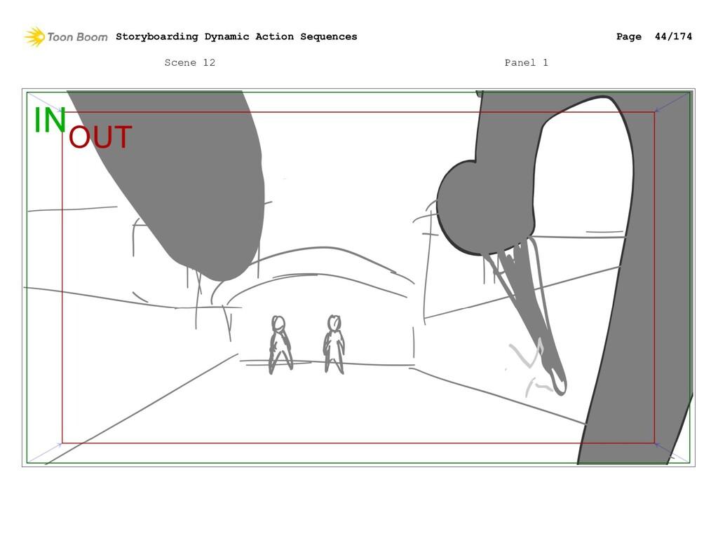 Scene 12 Panel 1 Storyboarding Dynamic Action S...
