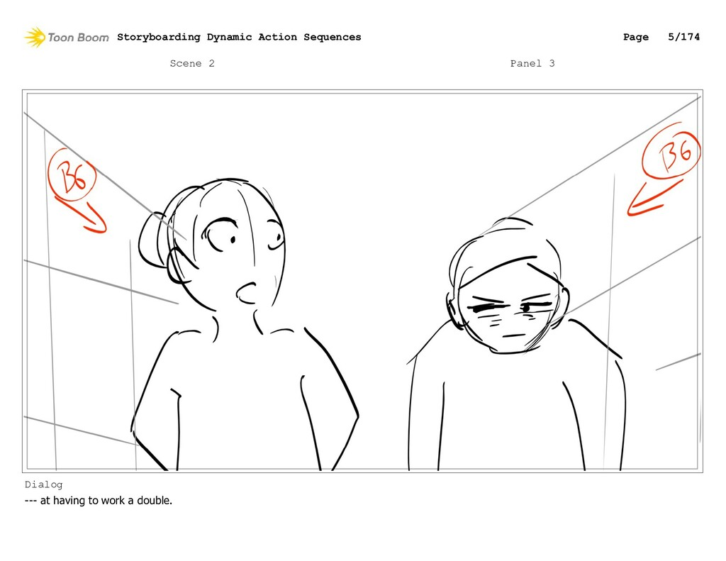 Scene 2 Panel 3 Dialog --- at having to work a ...