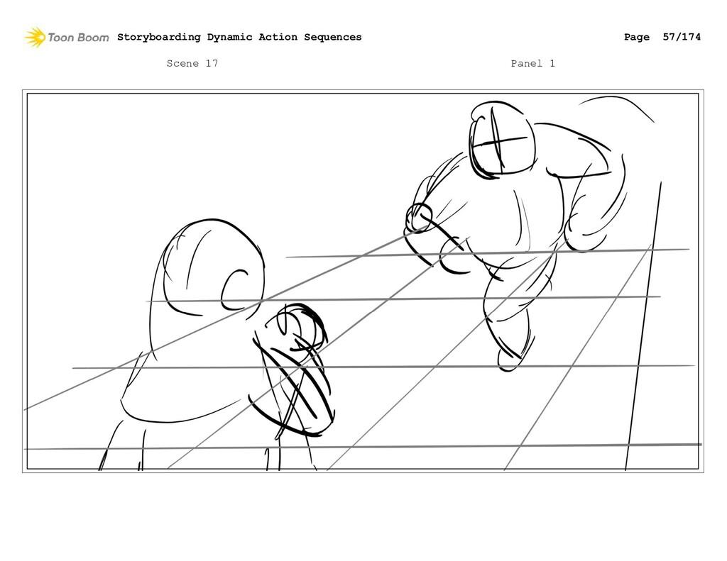 Scene 17 Panel 1 Storyboarding Dynamic Action S...