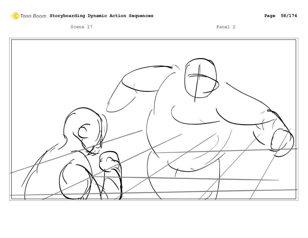 Scene 17 Panel 2 Storyboarding Dynamic Action S...