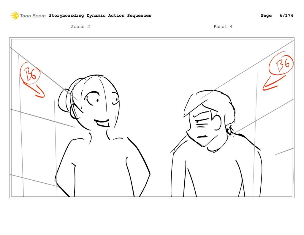 Scene 2 Panel 4 Storyboarding Dynamic Action Se...