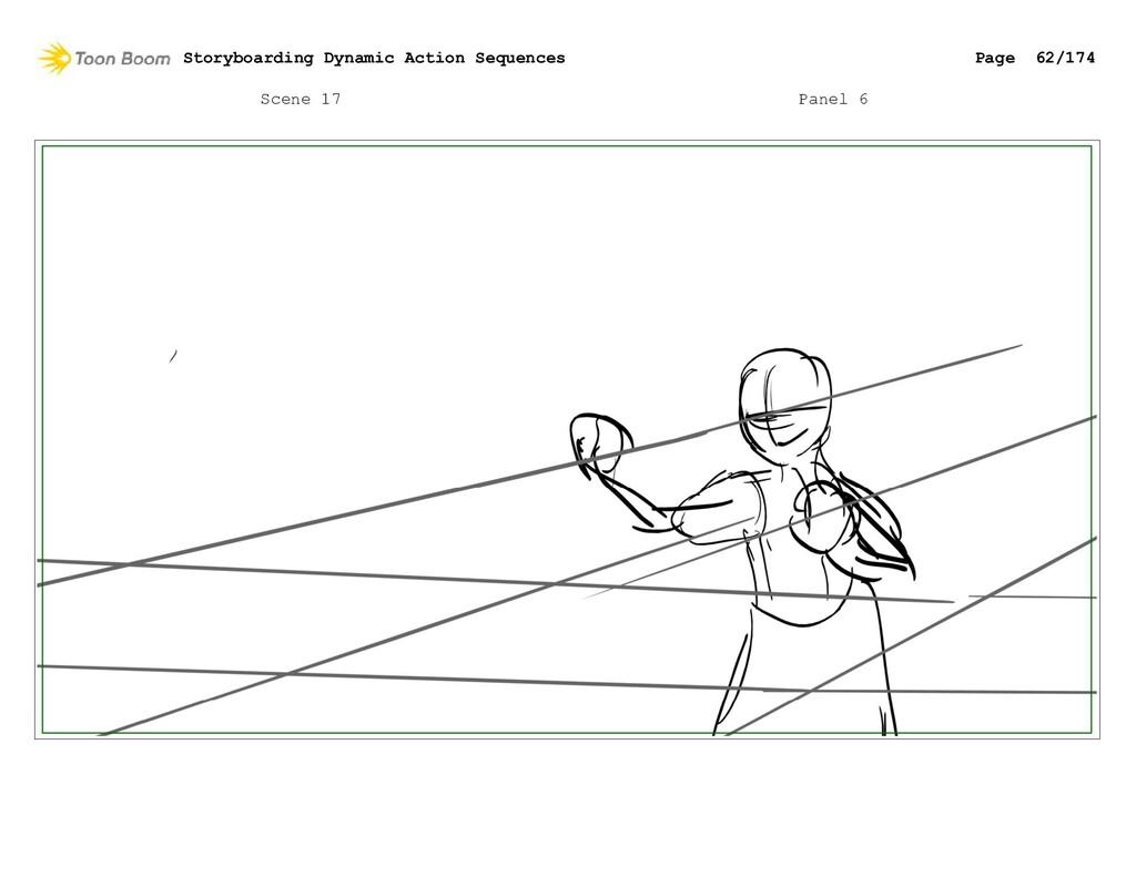 Scene 17 Panel 6 Storyboarding Dynamic Action S...