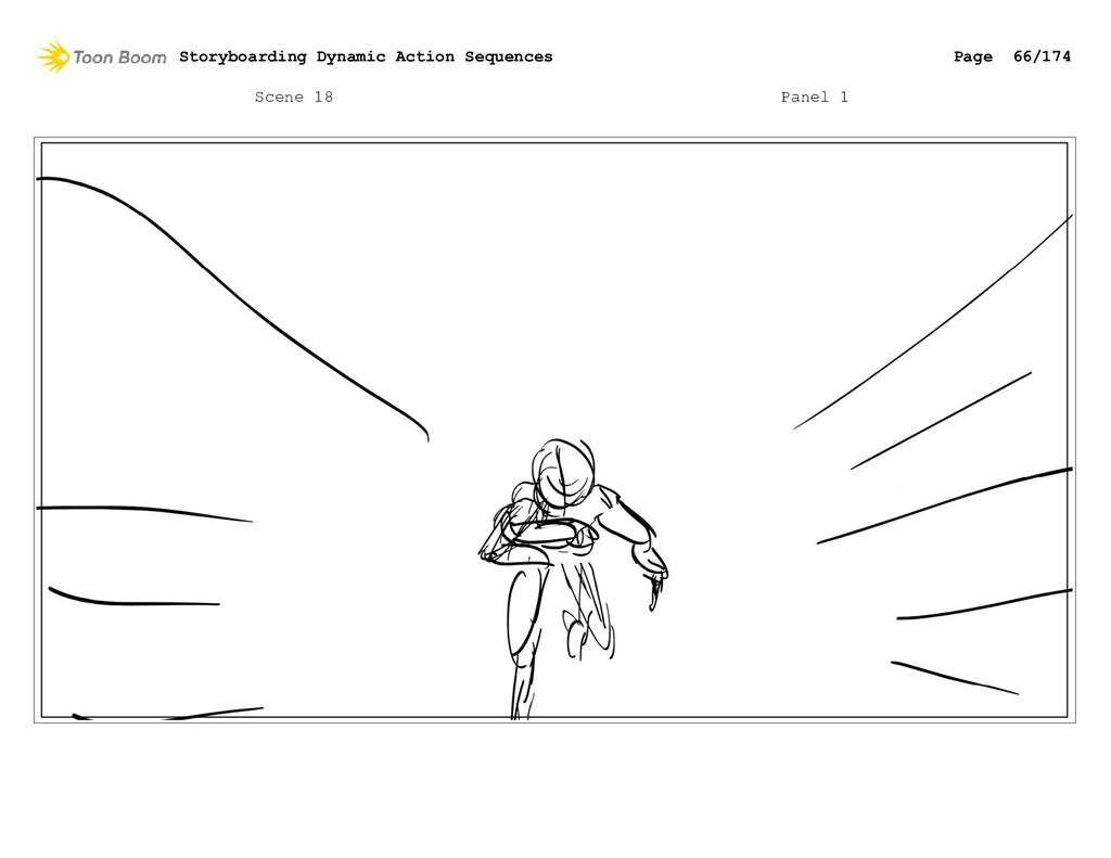 Scene 18 Panel 1 Storyboarding Dynamic Action S...