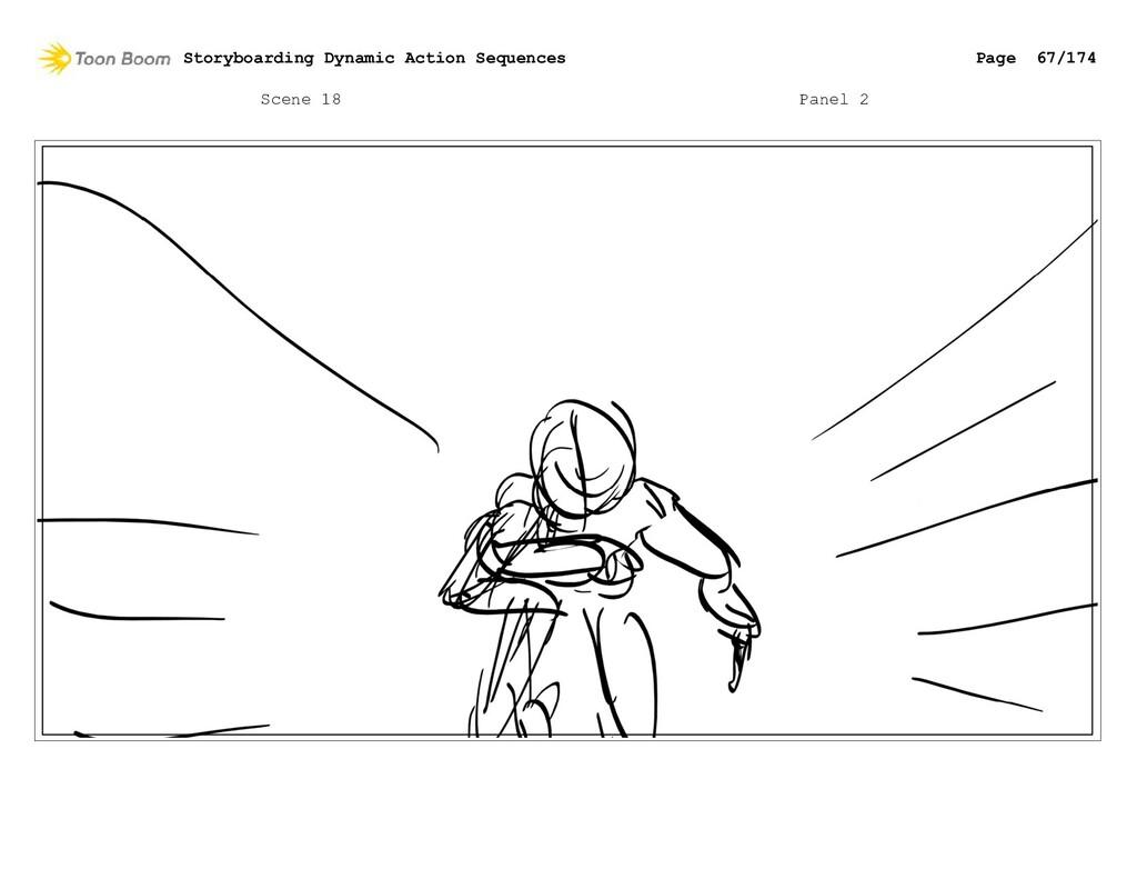 Scene 18 Panel 2 Storyboarding Dynamic Action S...