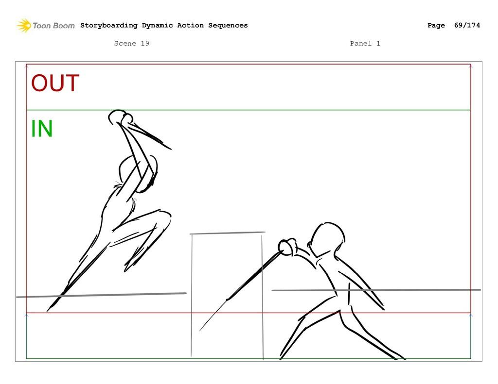 Scene 19 Panel 1 Storyboarding Dynamic Action S...