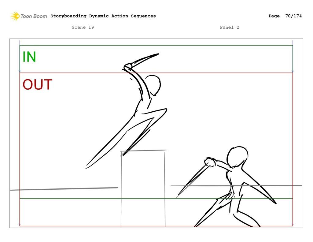 Scene 19 Panel 2 Storyboarding Dynamic Action S...