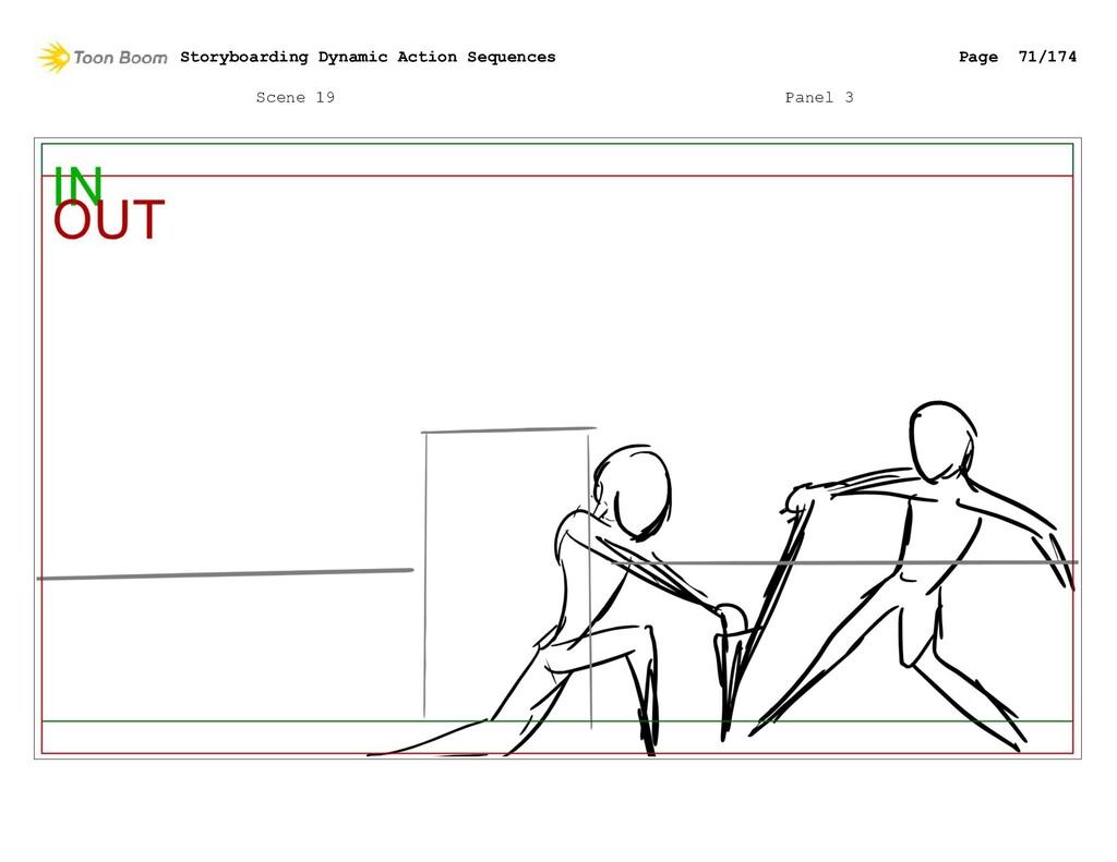 Scene 19 Panel 3 Storyboarding Dynamic Action S...