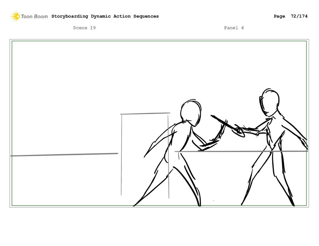Scene 19 Panel 4 Storyboarding Dynamic Action S...