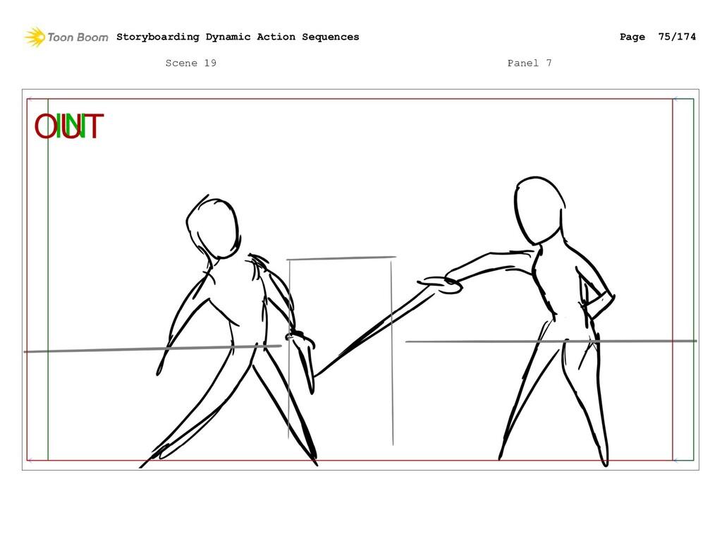 Scene 19 Panel 7 Storyboarding Dynamic Action S...