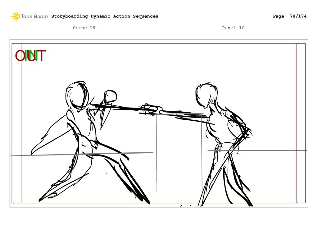 Scene 19 Panel 10 Storyboarding Dynamic Action ...