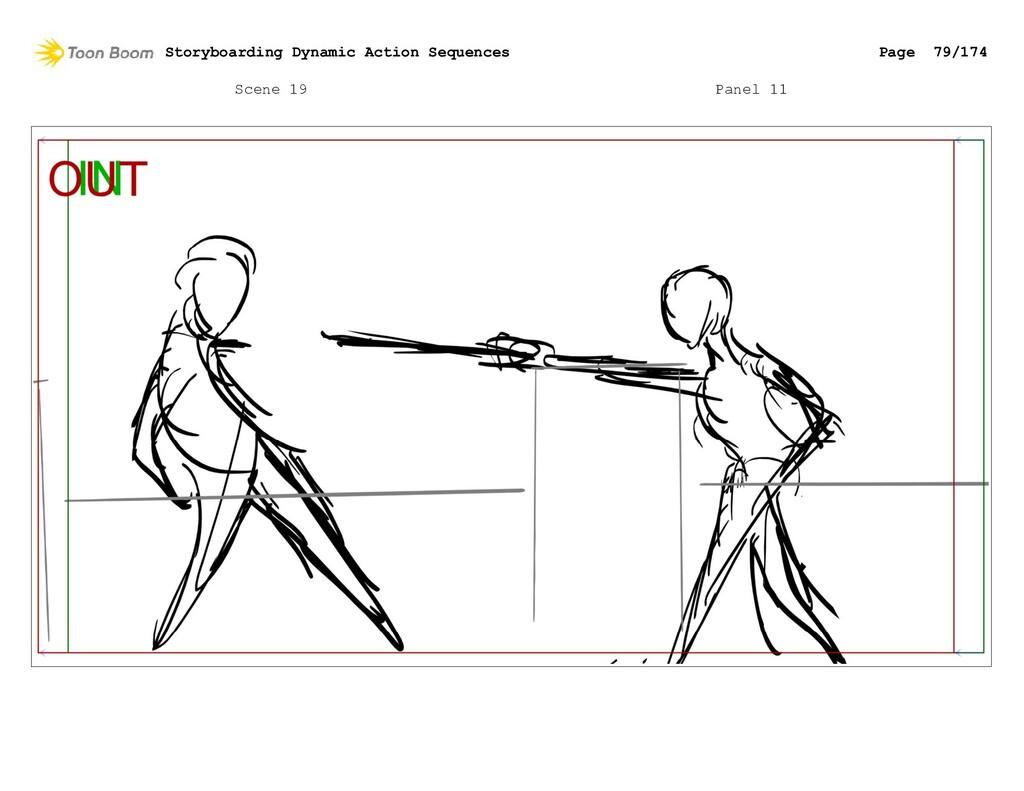 Scene 19 Panel 11 Storyboarding Dynamic Action ...