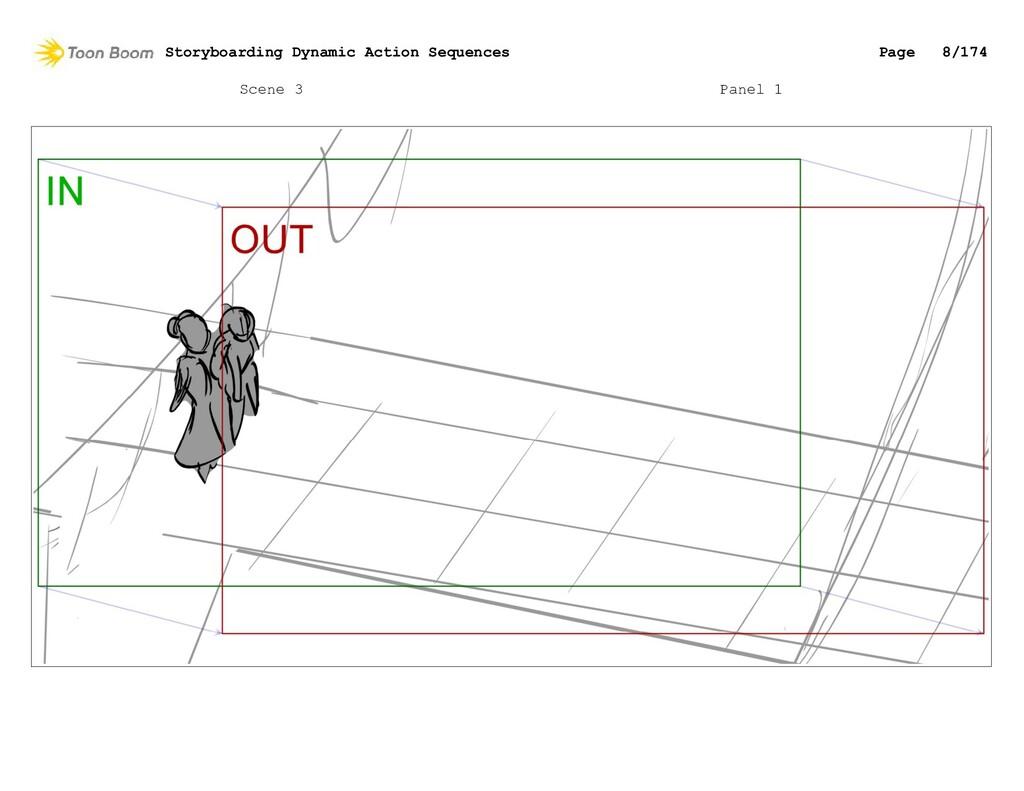 Scene 3 Panel 1 Storyboarding Dynamic Action Se...