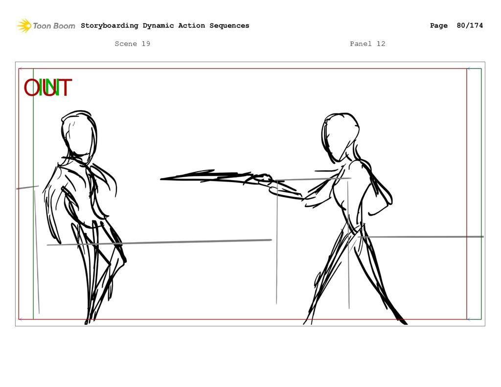 Scene 19 Panel 12 Storyboarding Dynamic Action ...