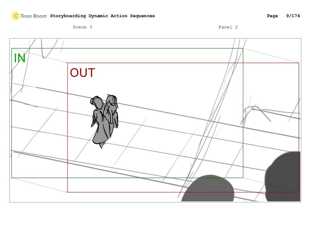 Scene 3 Panel 2 Storyboarding Dynamic Action Se...