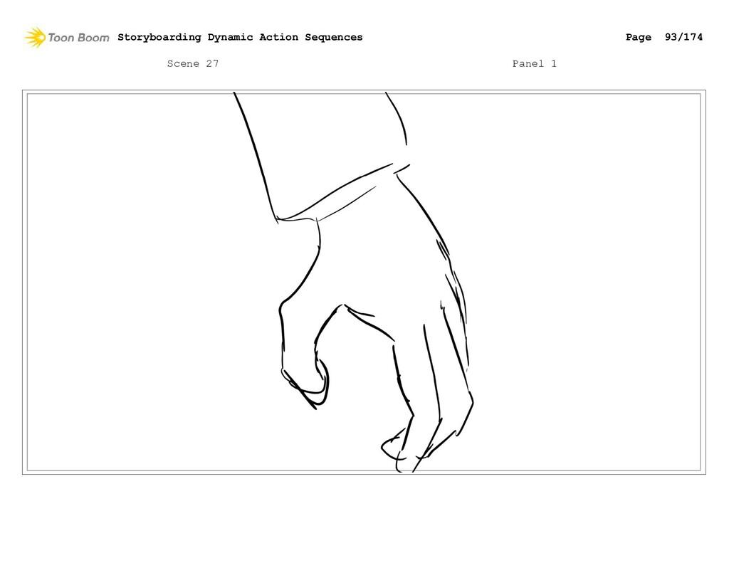Scene 27 Panel 1 Storyboarding Dynamic Action S...