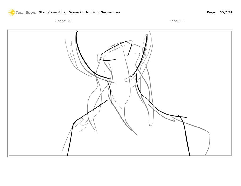 Scene 28 Panel 1 Storyboarding Dynamic Action S...
