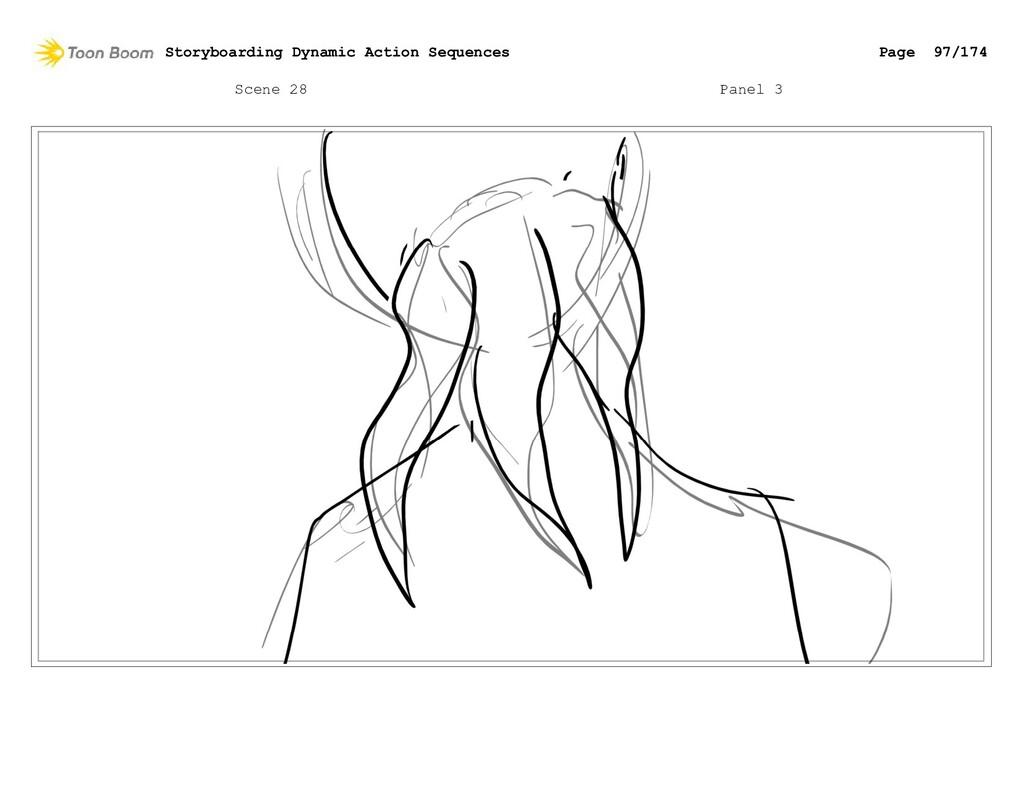 Scene 28 Panel 3 Storyboarding Dynamic Action S...