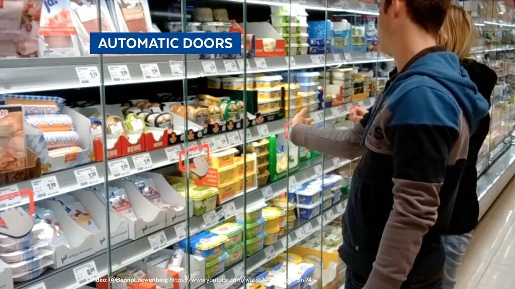 @BennoLoewenberg  AUTOMATIC DOORS Video: @Ben...